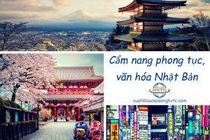 Cẩm nang văn hóa phong tục Nhật Bản bạn nên biết